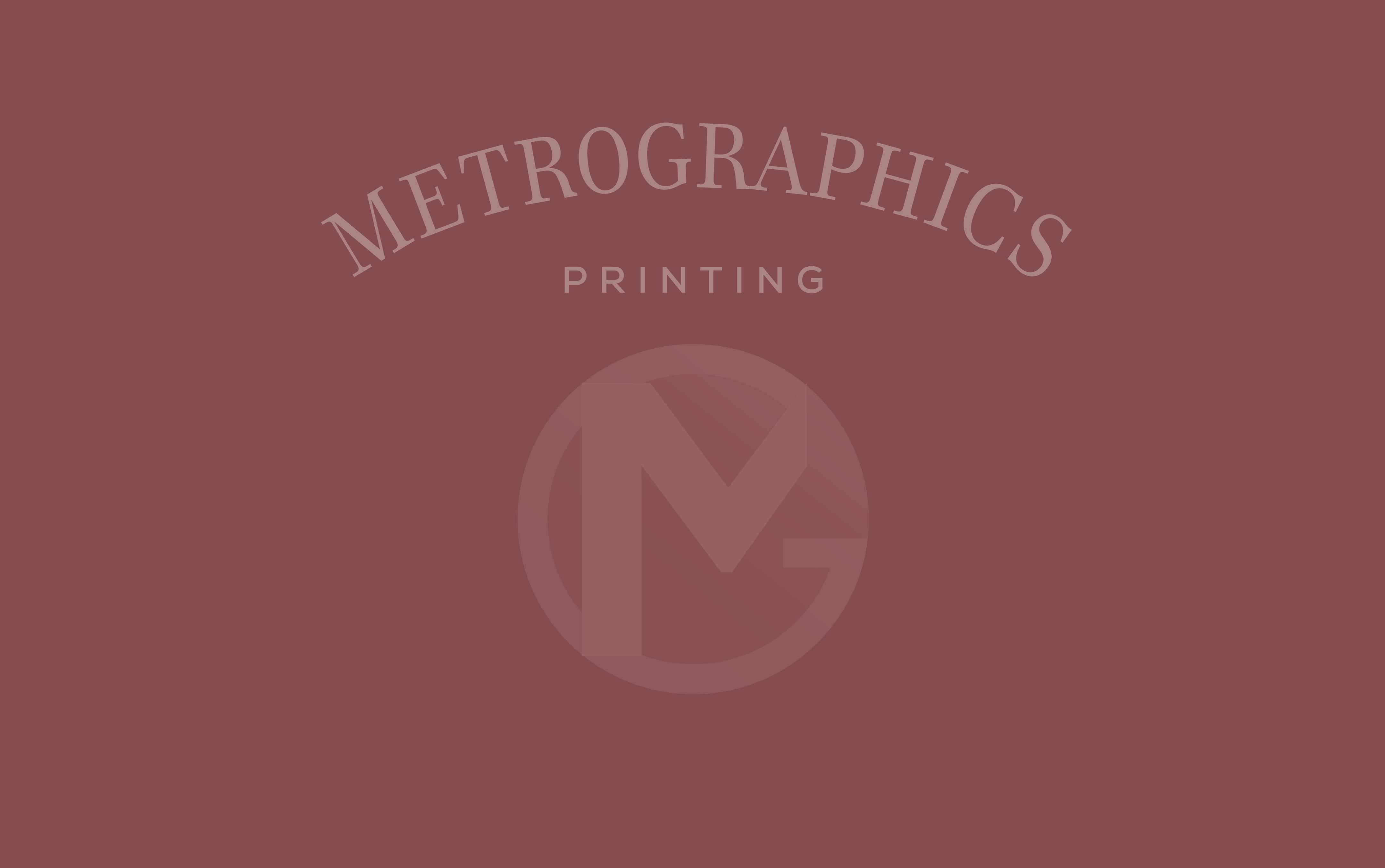 Metrographics Printing Since 1978
